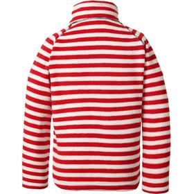 Didriksons 1913 Monte Printed Jacket Kids chili red simple stripe